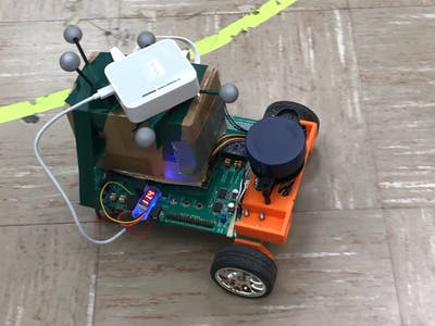 Robot Car Path Planning with Motion Tracking and Lidar