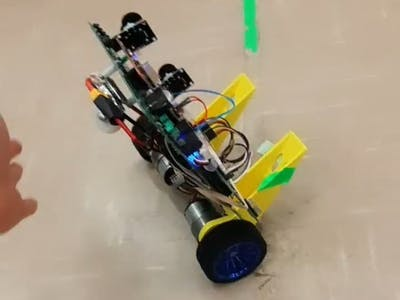 Waltzing robot