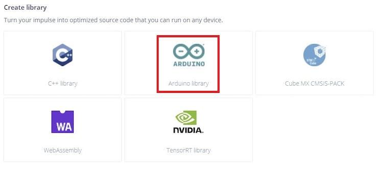 Library for Arduino Nano BLE 33 Sense