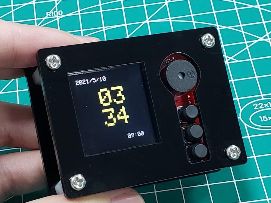 ESP-Smartclock With Weather Forecasting