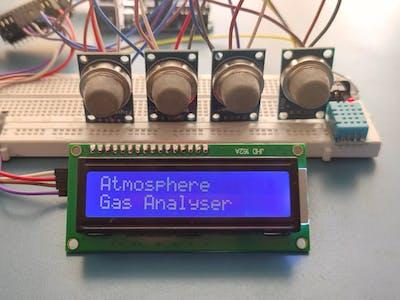 Gas Ananlyser Using Arduino