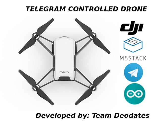 Telegram Controlled Drone with M5Stack