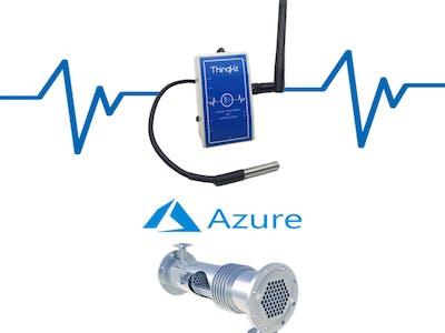 Thermal Analysis of Heat Exchanger Using Azure IoT Hub