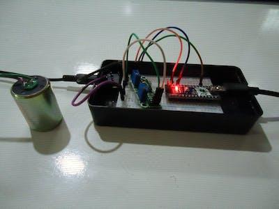 Super cheap amplifier for earthquake sensors