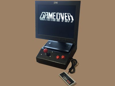 Desktop Arduboy (VGA1306 Plus NES Controller)