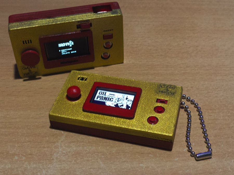 Arduboy Game and watch