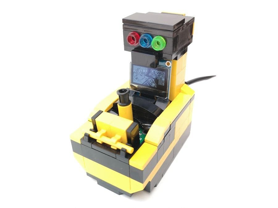 LegoSlimBoy - Arduboy in a Small Lego Arcade Cabinet