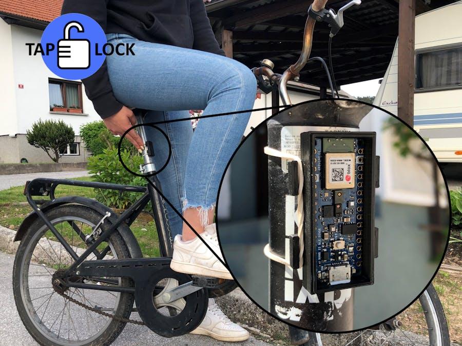 TapLock - A bike lock with machine learning