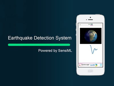 Realtime Earthquake detection system