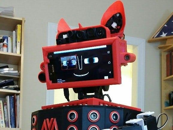 Ava v1 - Conversational NLP Robot