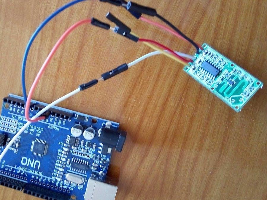 RCWL-0516 Doppler Radar Sensor Interfacing with Arduino