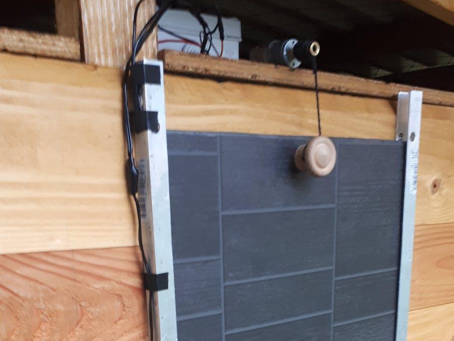 Automatic Solar Powered Chicken Door