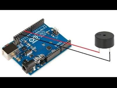 Add Buzzer to Arduino