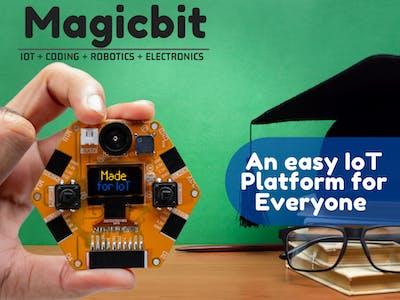 Magicbit: An Easy IOT Platform for Everyone