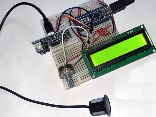 Measure Water Level using Waterproof Ultrasonic Sensor