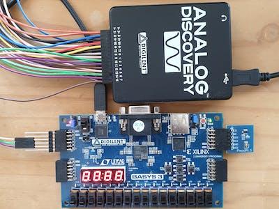 SPI Interface Code for Pmod ALS (8-bit ADC) in Verilog