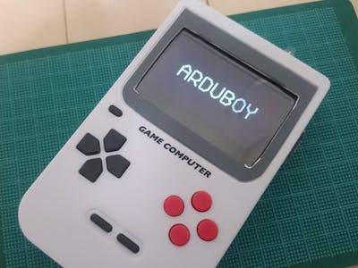 """Arduboy clone remodeled from """"Pocket Game Computer"""""""