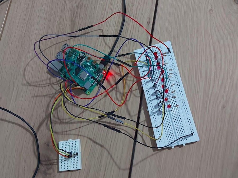 Temperature Tracker using Raspberry Pi