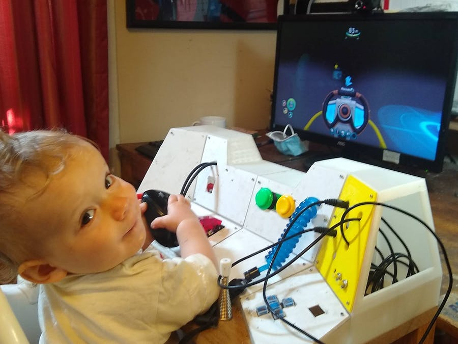 Baby's First Mission Control Console