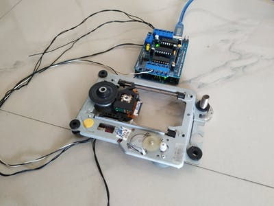 Arduino DVD motor