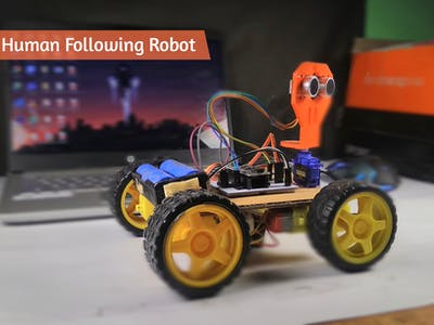 How to Make Arduino Human Following Robot