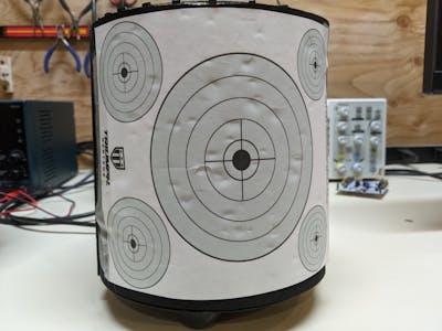 Autonomous Robot Nerf Target