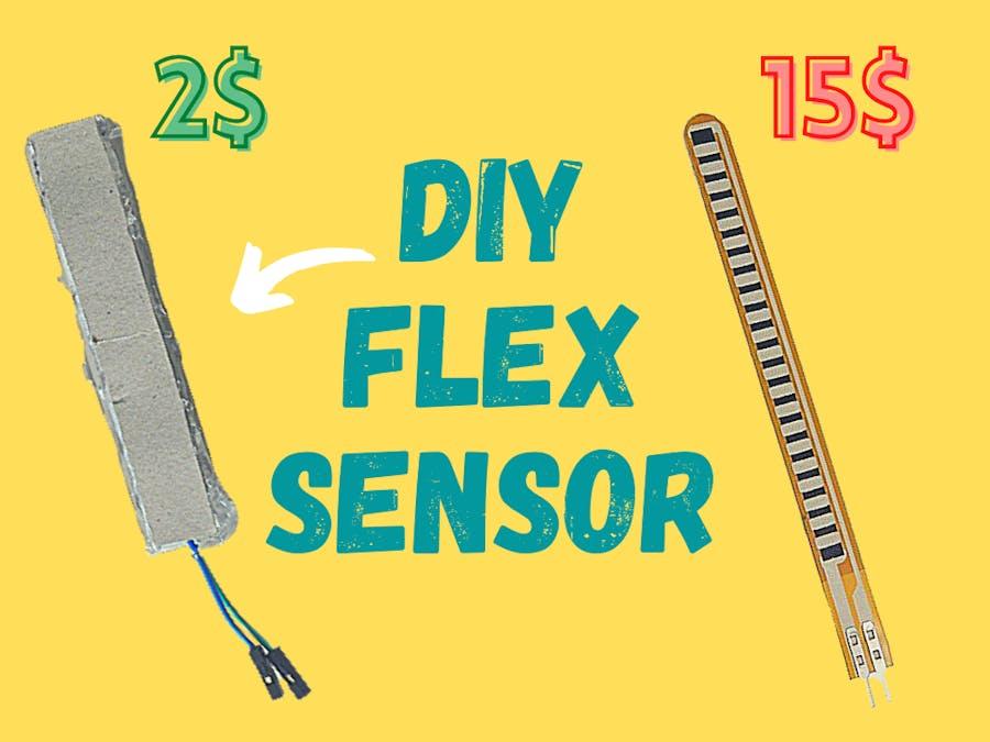 How to Make FLEX Sensor at Home | DIY Flex Sensor