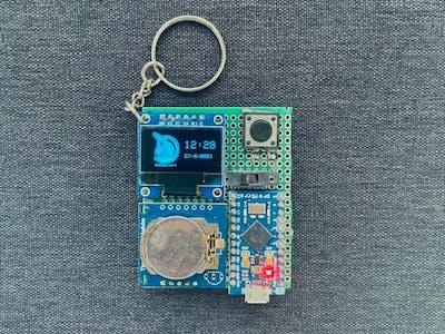 Arduboy Pocket Watch!
