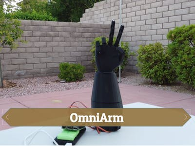 OmniArm - The future of prosthetics