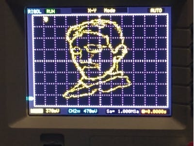 Draw Anything on Your Oscilloscope