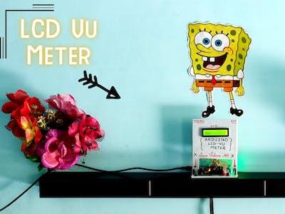 Music Reactive LCD Vu Meter
