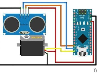 DIY Ultrasonic Radar