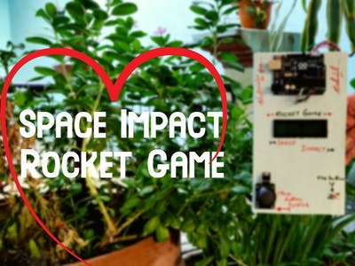 Space Impact LCD game