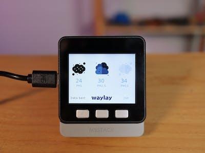 Air Quality Monitoring - Waylay IO