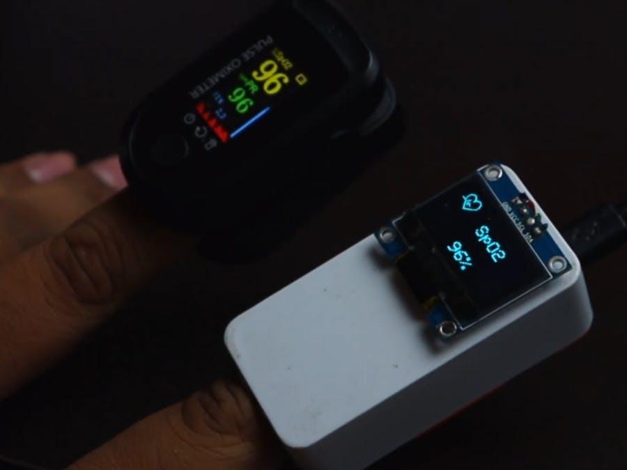IOT Based Pulse Oximeter Using Esp32