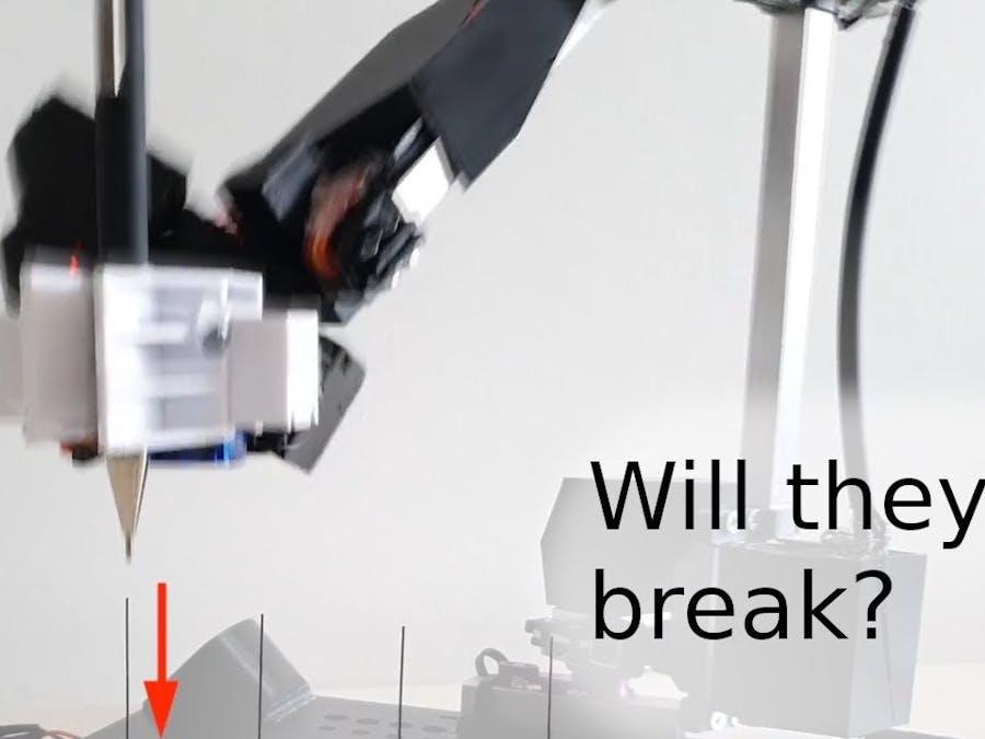 Super Accurate 300€ Robot Arm