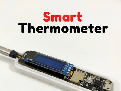 Smart Thermometer Using Esp-01F and Web Socket [Arduino IDE]