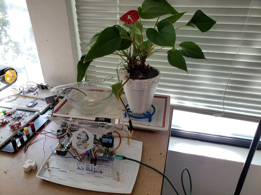House Plant Watering System