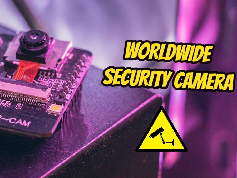 How to Access ESP32-CAM Worldwide using ngrok