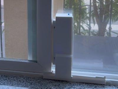 Web Enabled, 3D Printed, Motorized Sliding Window Retrofit