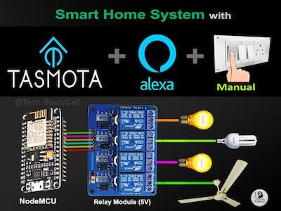 Tasmota NodeMCU Alexa Smart Home System 2021 Without Coding