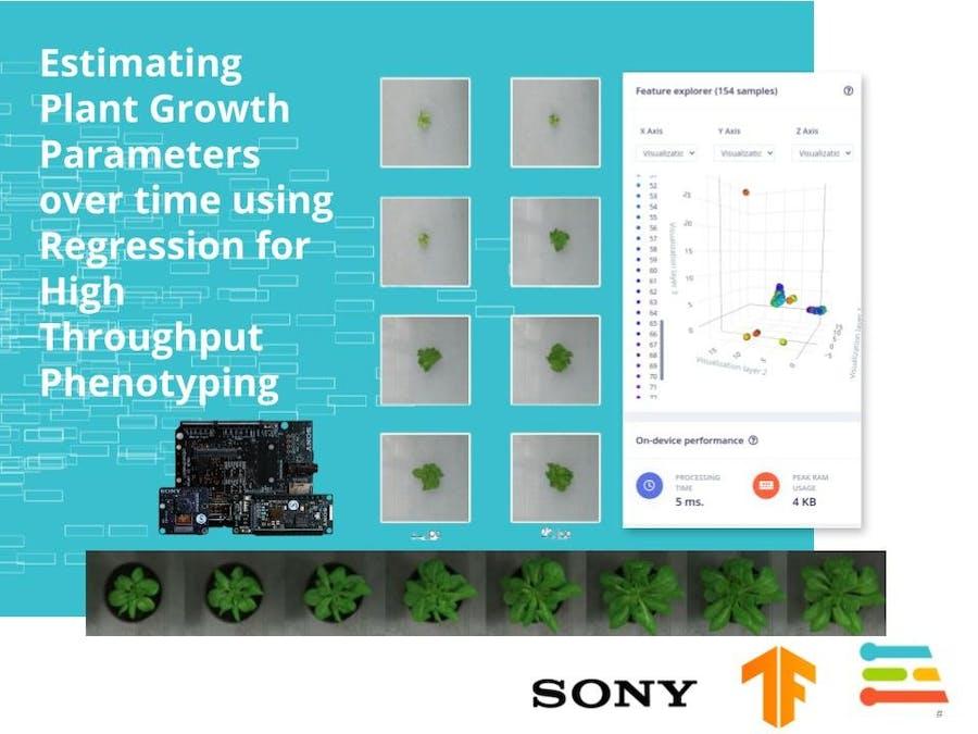 Plant Growth Estimation for High Throughput Phenotyping
