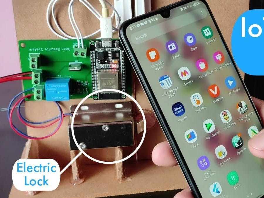 IoT Door Lock Project