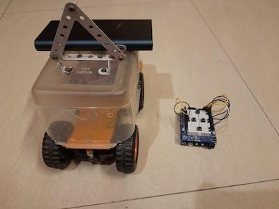 Wi-Fi Controlled Bot