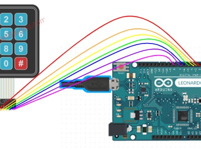 Arduino Leonardo emoji keypad