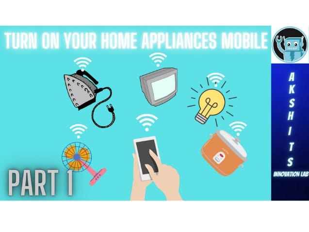 Home automation using NodeMCU and Blynk App