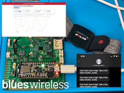 Serenity Now! Build your own Bluetooth WFH Stress Monitor