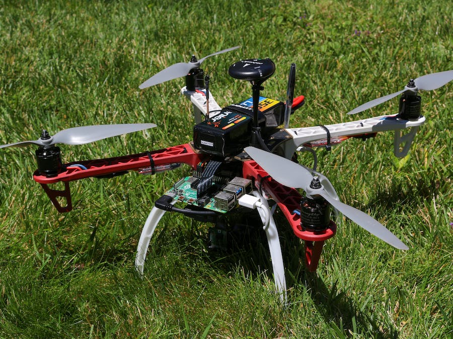 Search And Rescue Drone With Google Coral