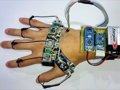 Wearable device to translate sign language to Txt/speech