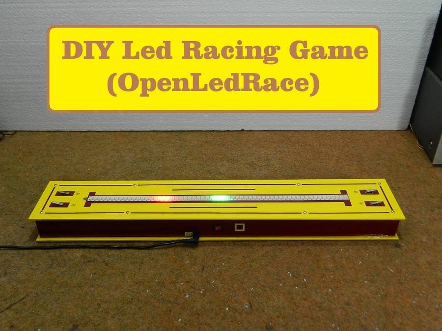 DIY Led Racing Game (Open Led Race)